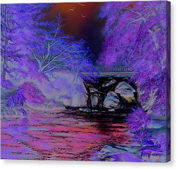 Flow Gently Canvas Print by Irish Art