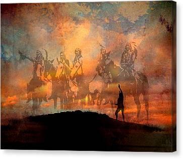 Forefathers Canvas Print by Paul Sachtleben