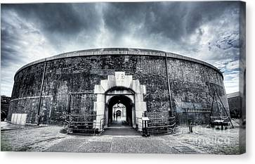 Hidden Canvas Print - Fort by Svetlana Sewell