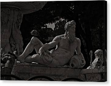 Fountain Of Orion Canvas Print