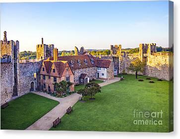 Framlingham Castle Canvas Print by Svetlana Sewell