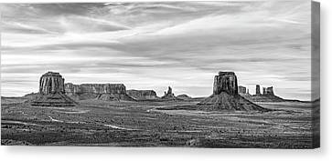Canvas Print featuring the photograph From Artist's Point by Jon Glaser