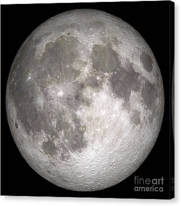 No People Canvas Print - Full Moon by Stocktrek Images