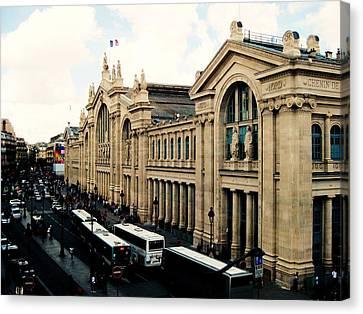 Gare Du Nord Canvas Print by Diana Moya