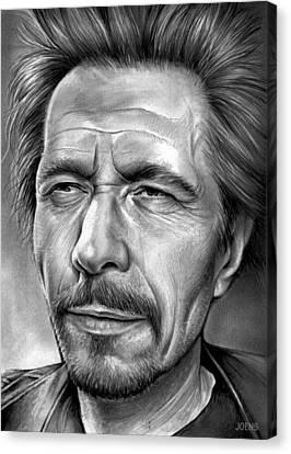 Gary Oldman Canvas Print by Greg Joens