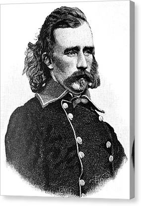 Little Big Horn Canvas Print - George Armstrong Custer by American School