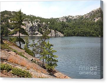 George Lake Canvas Print by Ted Kinsman