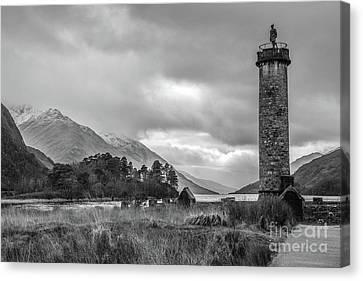 Glenfinnan And Loch Shiel Canvas Print