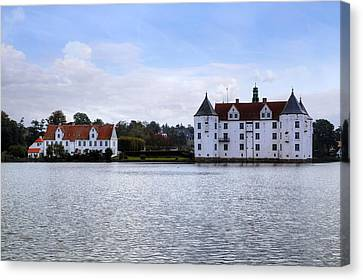 Gluecksburg Castle - Germany Canvas Print