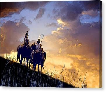 Going Home Canvas Print by Paul Sachtleben