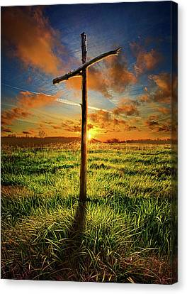 Canvas Print featuring the photograph Good Friday by Phil Koch