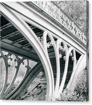 Gothic Bridge Detail Canvas Print by Jessica Jenney