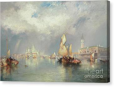 Moran Canvas Print - Grand Canal, Venice by Thomas Moran