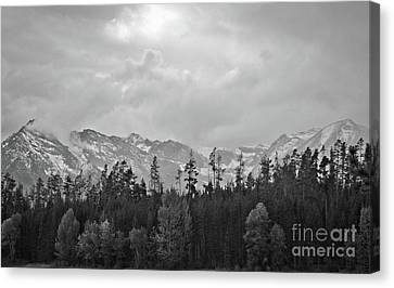 Grand Tetons Canvas Print by Brent Parks