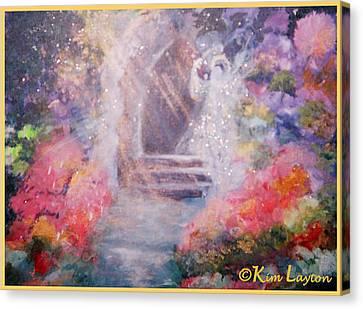 Guardian Angel Canvas Print by Kim Layton