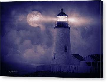 Guiding Lights Canvas Print by George Robinson