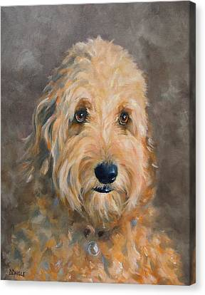 Gunther Canvas Print by Diane Daigle