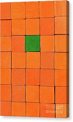 Handicraft Cubes Canvas Print