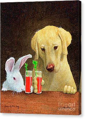 Bloody Mary Canvas Print - Hare Of The Dog... by Will Bullas