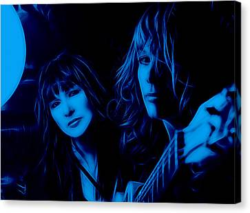 Heart Ann And Nancy Wilson Collection Canvas Print by Marvin Blaine