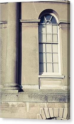 Ledge Canvas Print - Historic Building  by Tom Gowanlock
