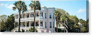 Antebellum Canvas Print - Historic Houses In A City, Charleston by Panoramic Images