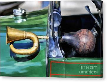 Horn On 1929 Ford A Canvas Print by George Atsametakis