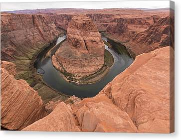 Canvas Print featuring the photograph Horseshoe Bend, Arizona by Josef Pittner