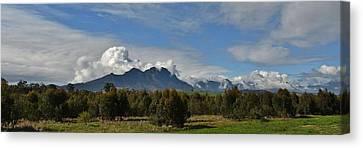 Hottentots Holland Mountains Canvas Print