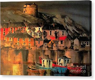 Howth Sunset Dublin Canvas Print