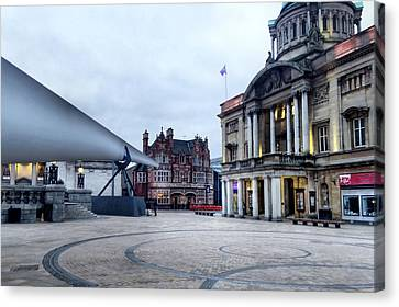 Hull Blade - City Of Culture 2017 Canvas Print by Sarah Couzens