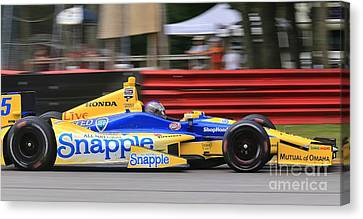 Pro Indycar Racing Canvas Print by Douglas Sacha