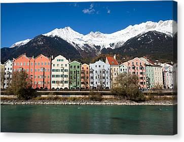 Innsbruck Canvas Print by Andre Goncalves