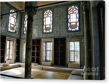 Canvas Print featuring the photograph Inside The Harem Of The Topkapi Palace by Patricia Hofmeester