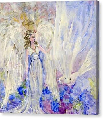 Inspiration Canvas Print by Rosemary Babikan