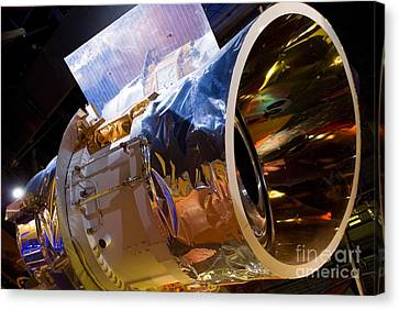 Iras Infrared Astronomy Satellite Canvas Print