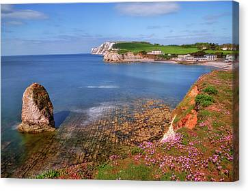 Isle Of Wight - England Canvas Print by Joana Kruse