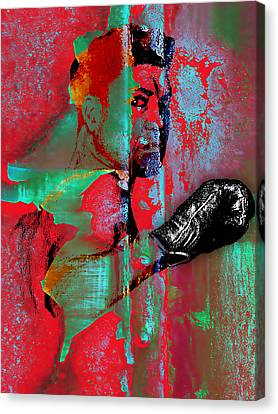 Retro Canvas Print - Jack Dempsey Collection by Marvin Blaine