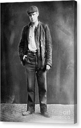 Jack London (1876-1916) Canvas Print by Granger