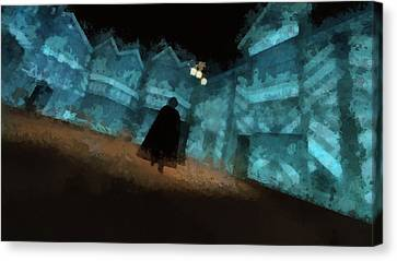 Jack The Ripper Canvas Print by Esoterica Art Agency