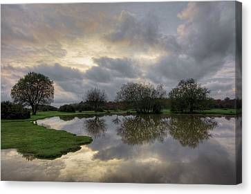 Canvas Print - Janesmoor Pond - New Forest by Joana Kruse