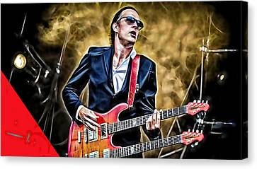 Joe Bonamassa Collection Canvas Print by Marvin Blaine