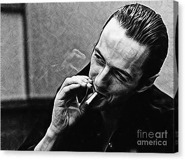 Joe Strummer Collection Canvas Print by Marvin Blaine