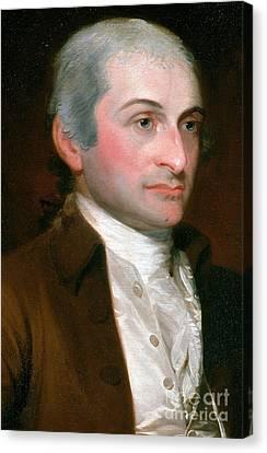 John Jay, American Founding Father Canvas Print
