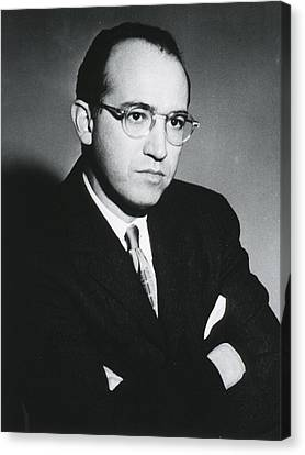 1950s Portraits Canvas Print - Jonas E. Salk 1914-1995, American by Everett