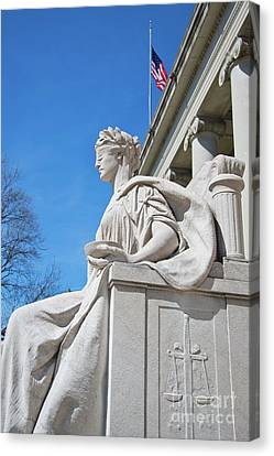 Justice Is Blind Canvas Print by ELITE IMAGE photography By Chad McDermott