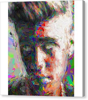 #justinbieber @justinbieber Canvas Print by David Haskett