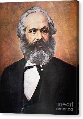 Karl Marx Canvas Print by Unknown