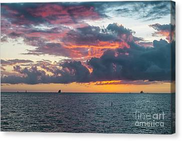 Key West Sunset Canvas Print