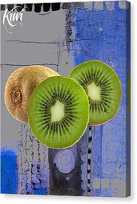 Kiwi Collection Canvas Print by Marvin Blaine